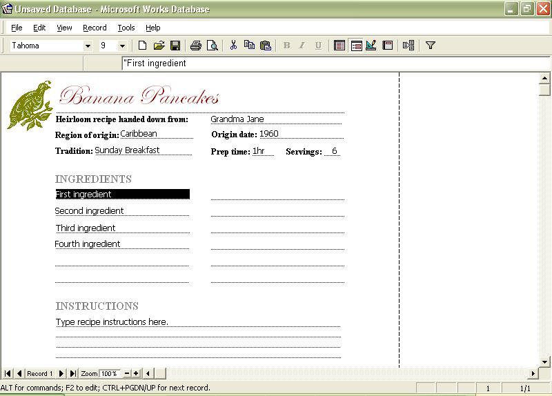 Ms works screenshots microsoft works task launcher tasks microsoft works calendar pronofoot35fo Gallery