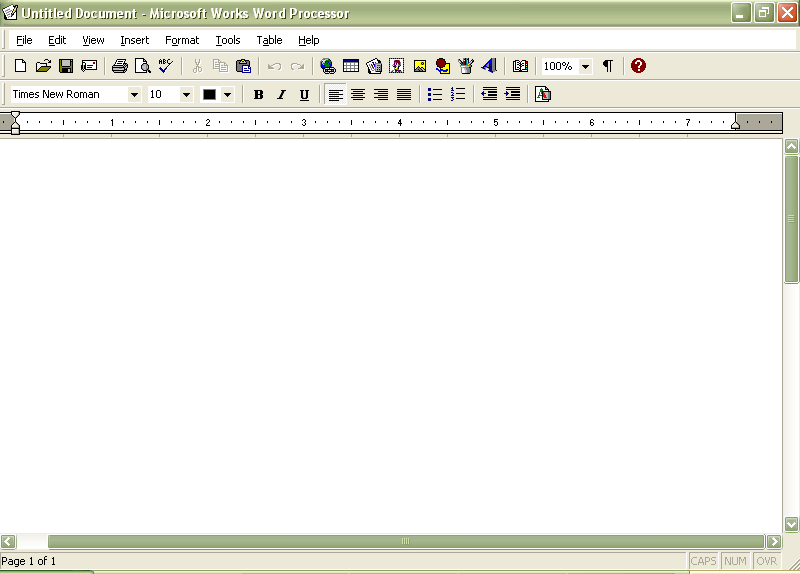 Fortunerutor blog for Microsoft works word processor free